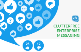 clutterfree enterprise messaging